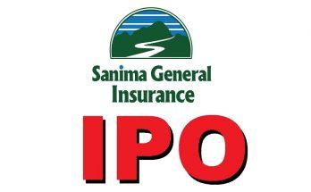 sanima general insurance ipo