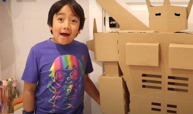 ryan kaji youtuber kid